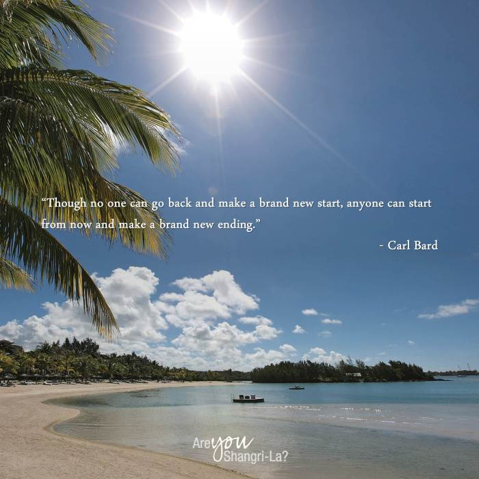 Carl Bard_Though no one can go back and make a brand new start