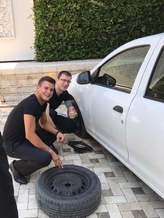Fixing Tire (2)